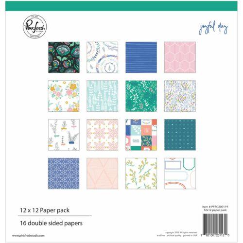 Pinkfresh Studio - Joyful Day 12x12 Paper Pack