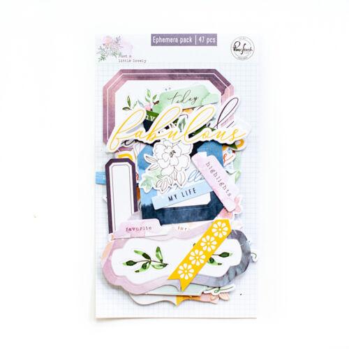 Pinkfresh Studio - Just a Little Lovely Ephemera pack