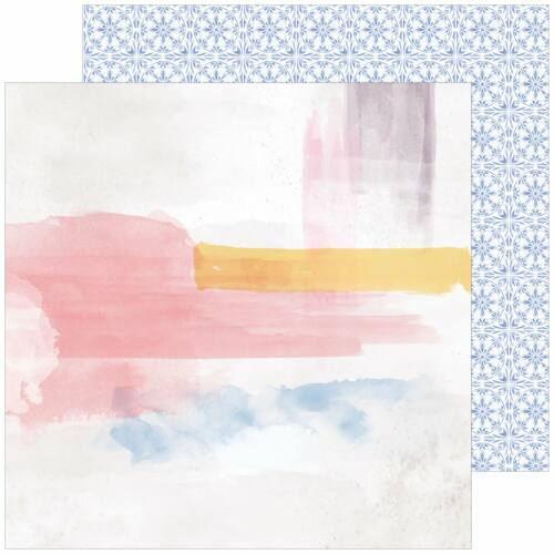 Pinkfresh Studio - Just a Little Lovely 12x12 Paper - Possibility