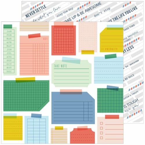 Pinkfresh Studio - Office Hours 12x12 Paper - Hustle