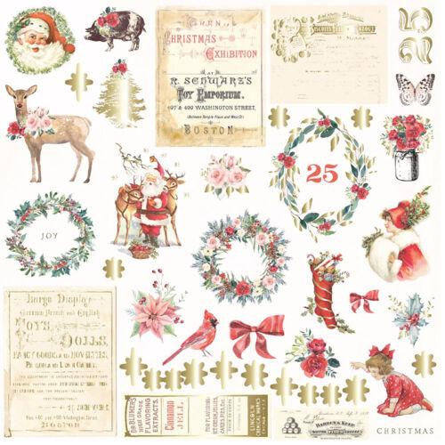 Prima Marketing - Christmas in the Country Ephemera (42 Pieces)