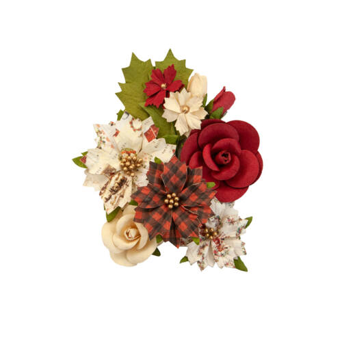 Prima Marketing - Christmas in the Country Flower - Christmas Song