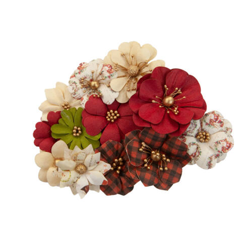 Prima Marketing - Christmas in the Country Flower - St. Nick