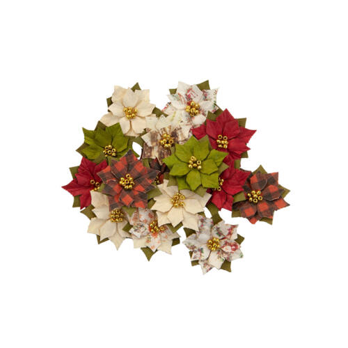 Prima Marketing - Christmas in the Country Flower - Wonderland