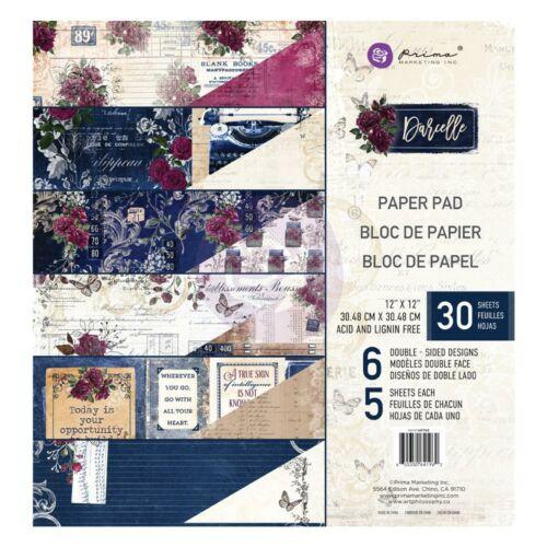 Prima Marketing - Darcelle 12x12 Paper Pad (24 Sheets)
