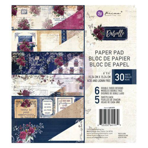 Prima Marketing - Darcelle 6x6 Paper Pad (30 Sheets)