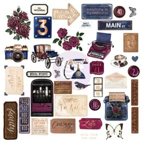 Prima Marketing - Darcelle Cardstock Ephemera (39 Piece)