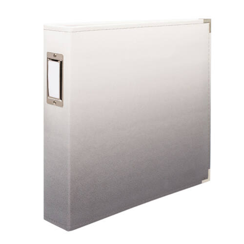 We R Memory Keepers - Classic Leather Album - Ombre Slate