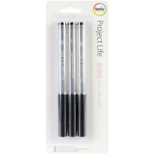 Project Life Journaling Pens 3/Pkg