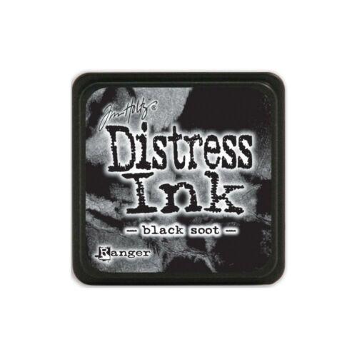 Ranger - Tim Holtz - Mini Distress Ink Pad - Black Soot