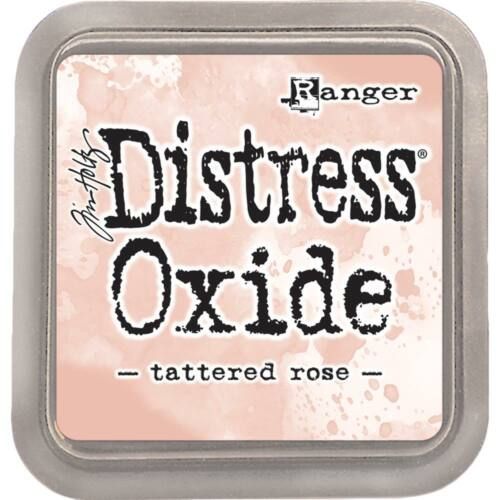 Tim Holtz Distress Oxide Ink Pad - Tattered Rose