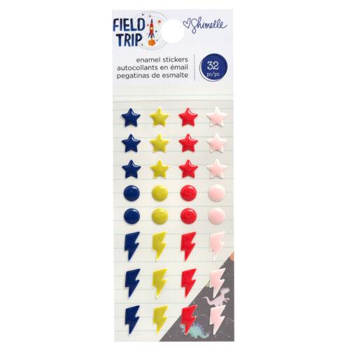 American Crafts - Shimelle - Field Trip Enamel Dots (32 Piece)