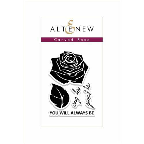 Altenew Carved Rose Stamp Set