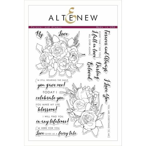 Altenew Forever and Always Stamp Set