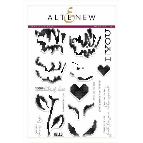 Altenew Sewn with Love Stamp Set