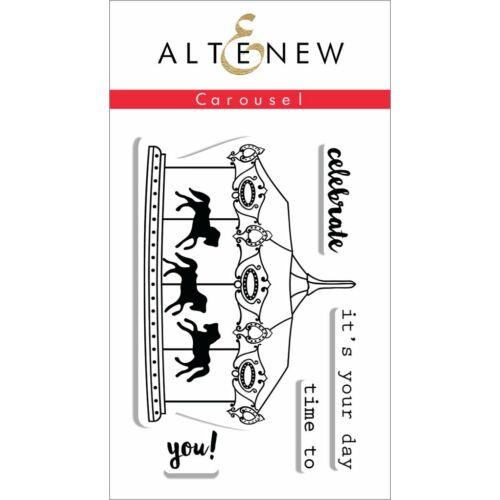 Altenew Carousel Stamp Set