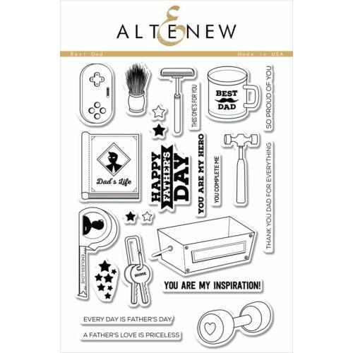 Altenew Best Dad Stamp Set