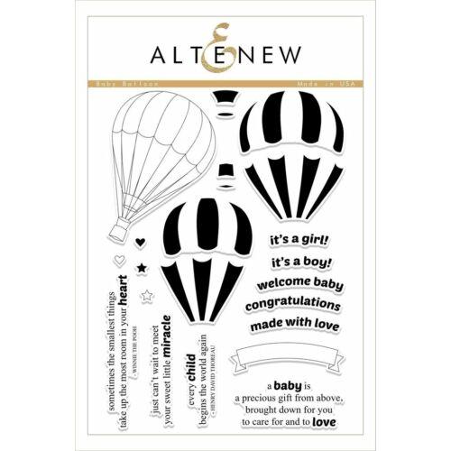 Altenew Baby Balloon Stamp Set