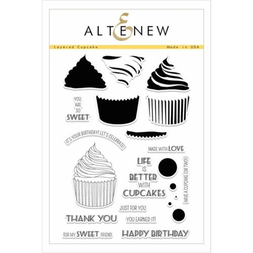 Altenew Layered Cupcake Stamp Set