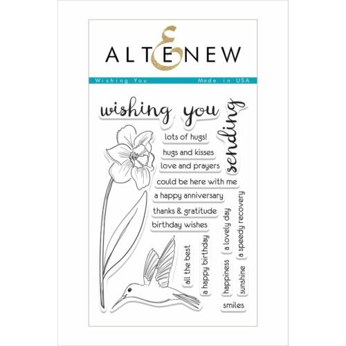 Altenew Wishing You Stamp Set