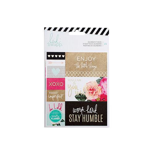 Heidi Swapp - Memory Planner 2017 - Calendar Stickers