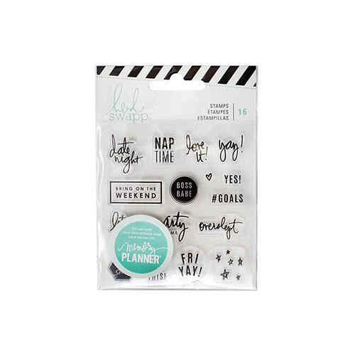 Heidi Swapp - Memory Planner 2017 - Clear Stamps Weekend