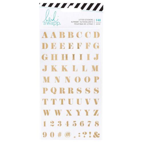 Heidi Swapp - Emerson Lane - alfabet nalepke Washi (140 Piece)