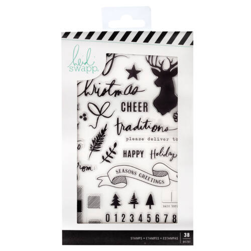 Heidi Swapp - Winter Wonderland Clear Stamps (38 Piece)