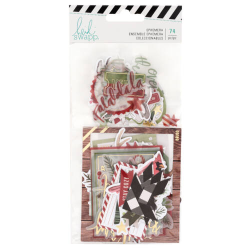 Heidi Swapp - Winter Wonderland Ephemera (75 Piece)
