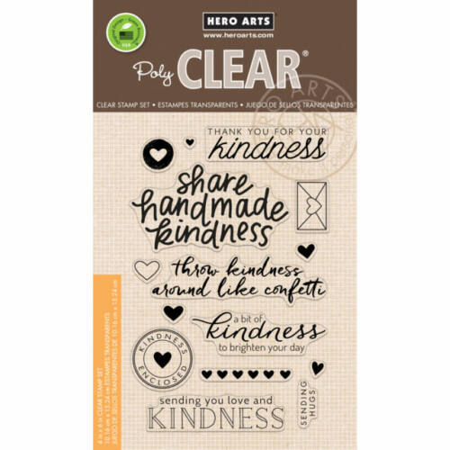 Hero Arts Clear Stamp - Share Handmade Kindness