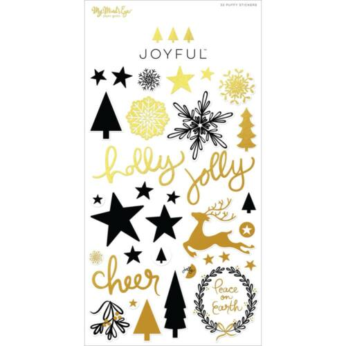 My Mind's Eye - Joyful Puffy Stickers