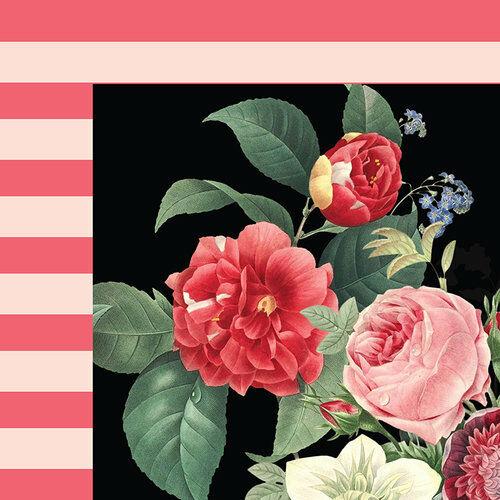 "My Mind""s Eye - In Bloom 12x12 Double Sided Paper - Bouquet"