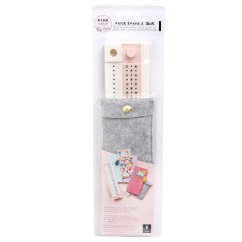Pink Paislee - Paige Evans - Truly Grateful Book Binding Tool (5 Piece)