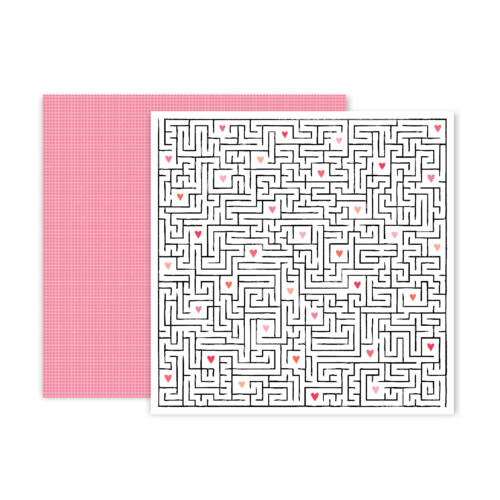 Pink Paislee - Lucky Us 12x12 Patterned Paper - 11