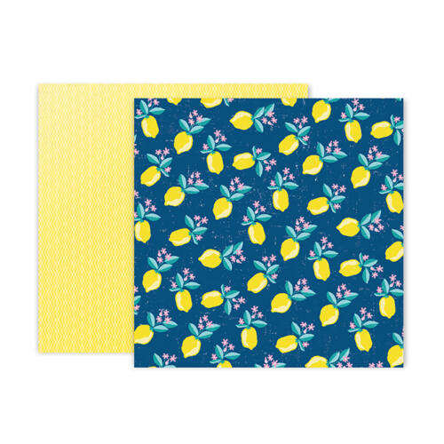 Pink Paislee - Paige Evans - Pick Me Up 12x12 Patterned Paper 7