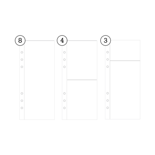 Ali Edwards - 3x8 Variety Page Protector Pack