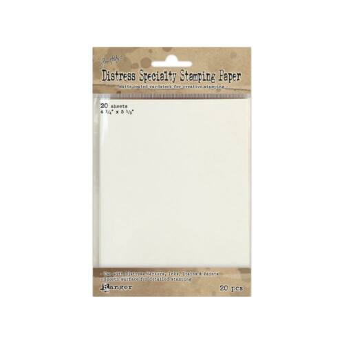 Tim Holtz Distress Specialty Stamping Paper 20/Pkg