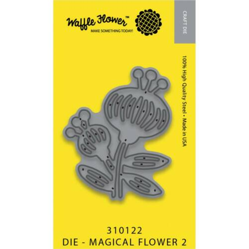 Waffle Flower Die - Magic Flower 2