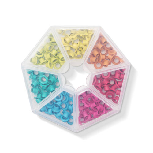 We R Memory Keepers - Crop-A-Dile Eyelet Storage - Bright