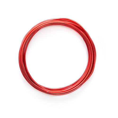 We R Memory Keepers Happy Jig Color Wire 5.5m - Red