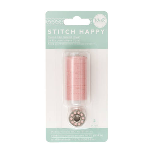 We R Memory Keepers - Stitch Happy Thread - Pink (2 pieces)