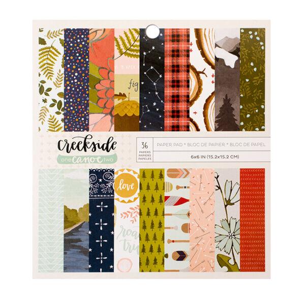 1Canoe2 - Creekside 6x6 Paper Pad