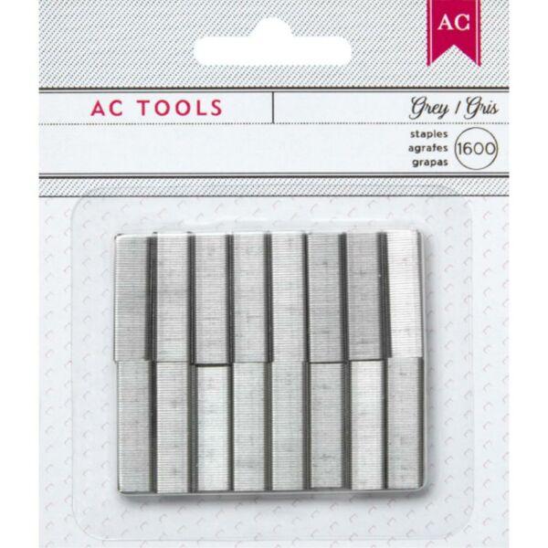 American Crafts - Mini Stapler Refills - Gray