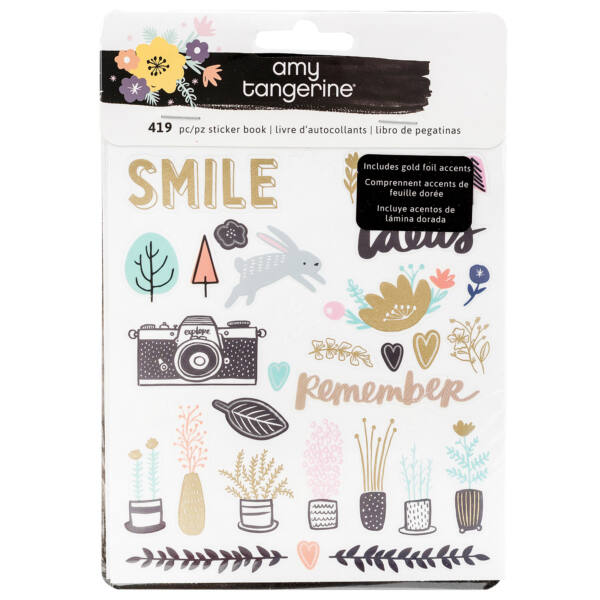 Amy Tangerine - Shine On Sticker Book 419/Pkg