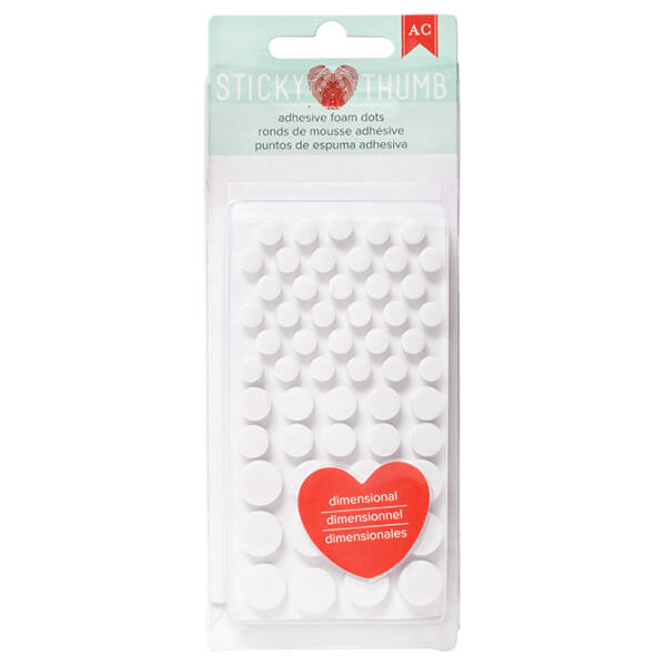 American Crafts Sticky Thumb Dimensional Foam Dots