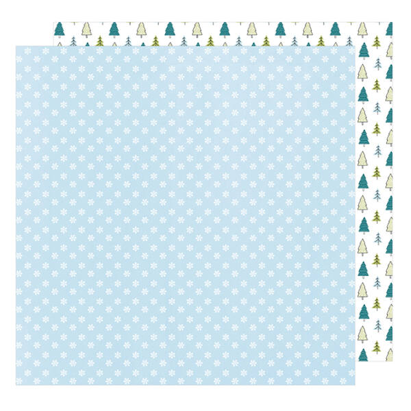 American Crafts - Sweater Weather 12x12 Paper Brrrr