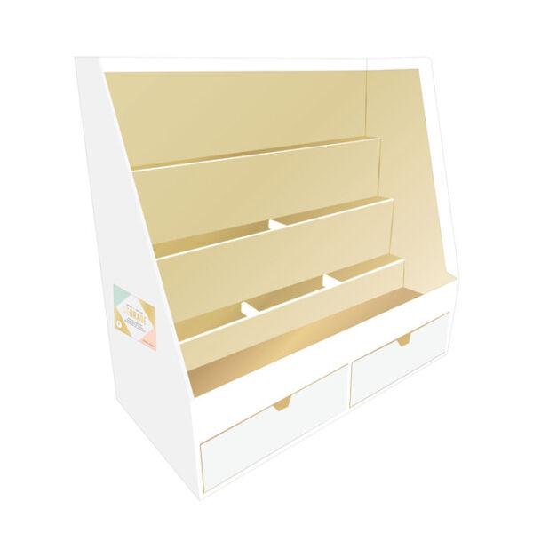 Crate Paper Desktop Storage Organizer