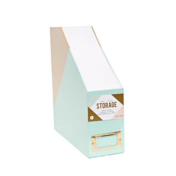 Crate Paper Desktop Storage Paper Storage