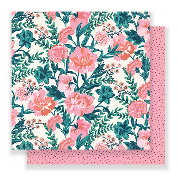 Crate Paper - Maggie Holmes Flourish 12x12 Paper - Fragrant