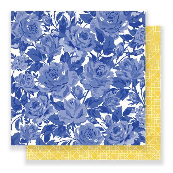 Crate Paper - Maggie Holmes Flourish 12x12 Paper - Poetic